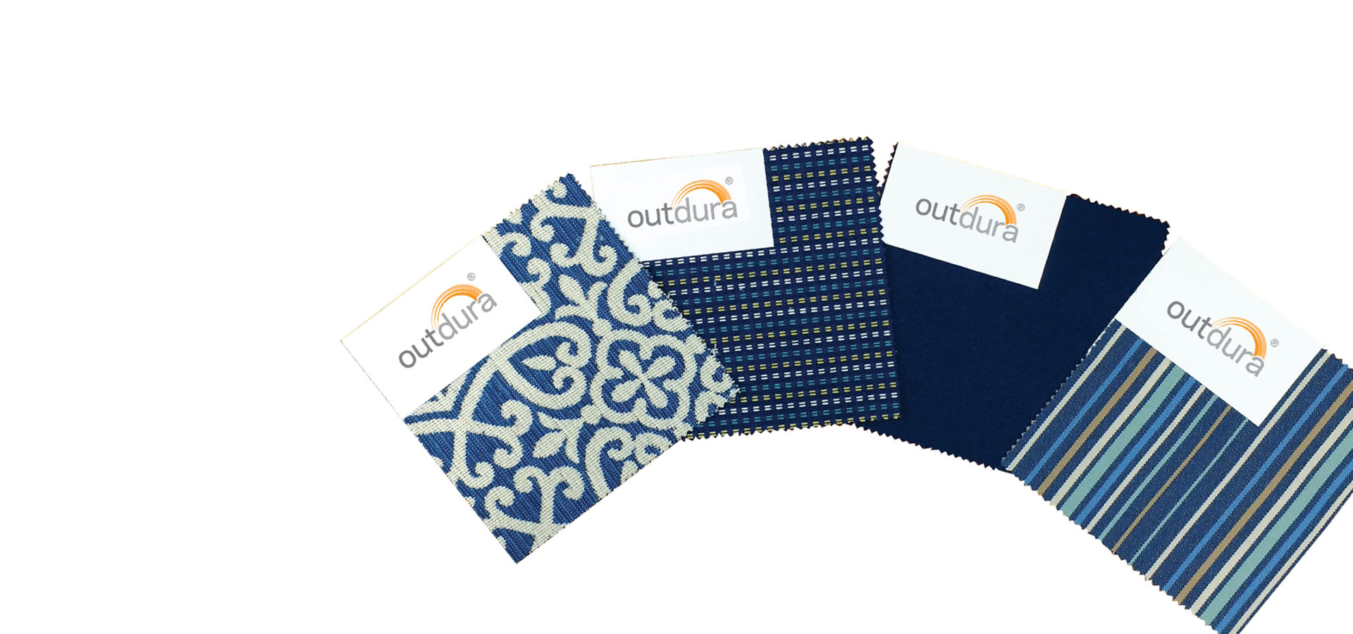 Order a swatch of any of Outdura's fabrics.